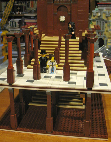 RMS Titanic - Grand Staircase in LEGO | by DecoJim