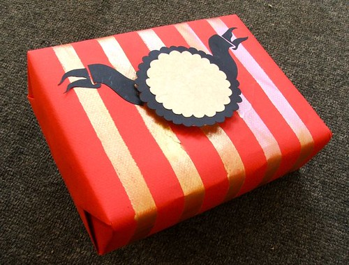 Red Stripey gift wrap | by Smallest Forest