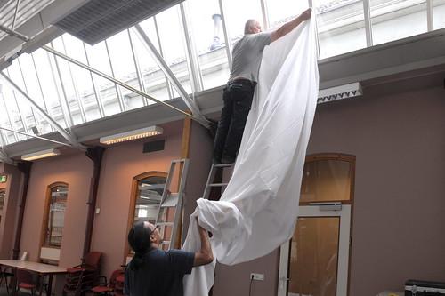 Kaart van zijnen opbouwen van de zaal voor het presenteren flickr - Versiering van de zaal van het tienermeisje van ...