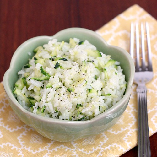 Cheesy Zucchini Rice | by Tracey's Culinary Adventures
