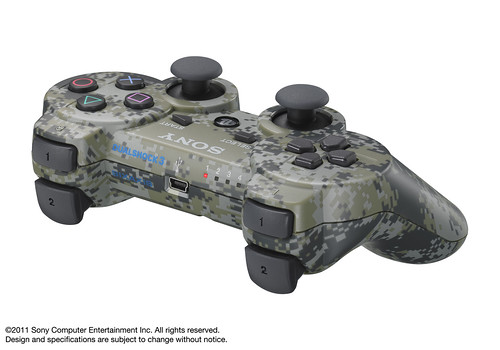 PlayStation Peripherals: Urban Camoflauge Bluetooth DUALSHOCK 3 | by PlayStation.Blog