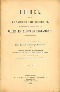 Dutch Bible Title | by bible_wiki