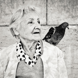 Pigeon Lady | by floimages