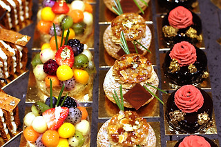 Café Pouchkine cakes | by David Lebovitz