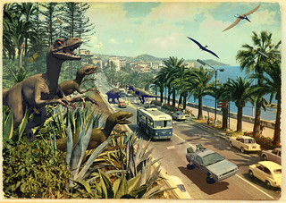 Jurassic Riviera | by Invading The Vintage - Franco Brambilla