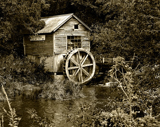 Hyde's Mill - Monochrome | by NikonD3xuser1(Thanks for 1.5 million visits)