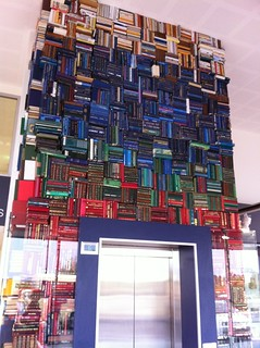 Book sculpture Logan Central Library | by ellen forsyth
