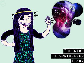 The girl it controlled stars | by SaintMarksArt