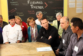 Dalton McGuinty visits the Humber College campus in northern Etobicoke to speak with students about the successful Second Career jobs program, created under the Liberal government. Over 50,000 Ontarians have benefited so far. Both the PCs and NDP did not | by Ontario Liberal Caucus