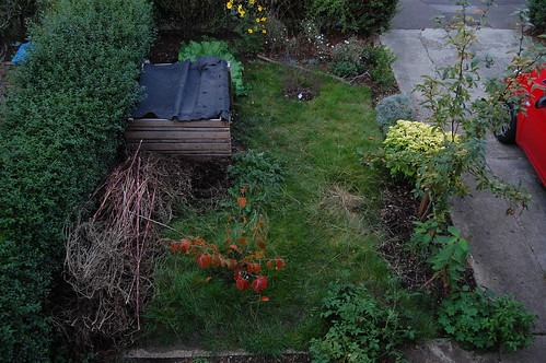 Looking Down on the Front Garden - September 2011 | by basswulf