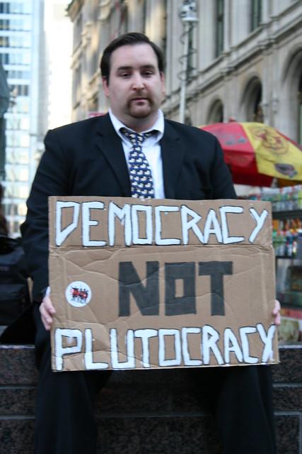 Democracy Not Plutocracy