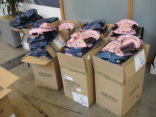 Backpack Donation with Schoolhouse Supplies at Woodlawn Elementary (4) | by KEEN Footwear