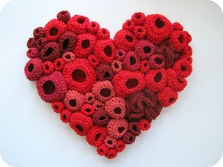 textile art heart | by racheluvscats
