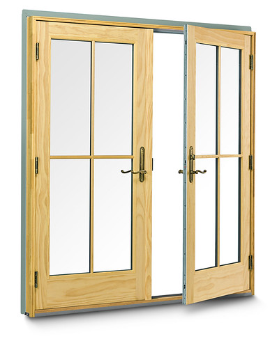 400 Series Frenchwood hinged inswing patio door | Flickr ...