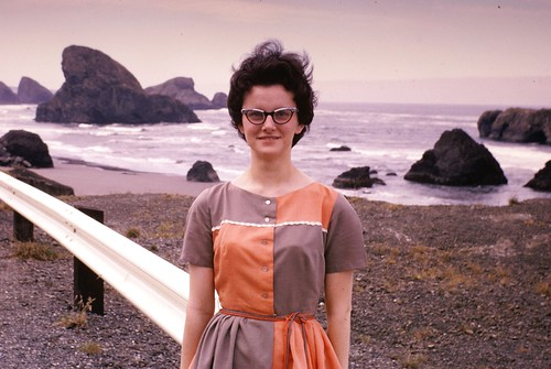 Southern Oregon Coast with Joy - 1964 | by Mike Leavenworth