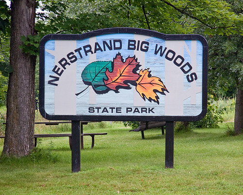 Nestrand Big Woods State Park