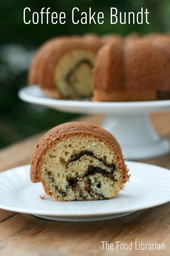 Aunt Patty's Coffee Cake Bundt | by Food Librarian