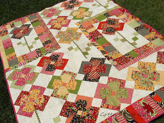 Flower Patch Quilt Pattern | by gfquilts