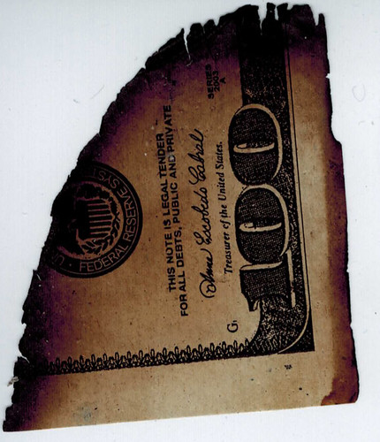 Counterfeit $100 Bill | by Travis Goodspeed