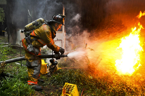 Putting out fires | by The U.S. Army