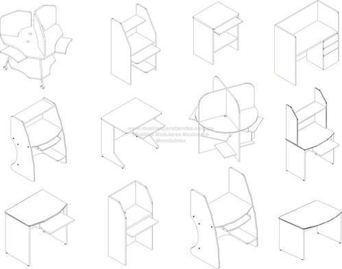 Muebles para computadora 2 muebles de tiendas muebles for Muebles para computadora