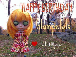 Happy Birthday to Glampetals! | by madebypablita