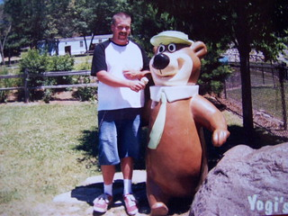 sharing a icecream cone with yogi bear | by outhouse man