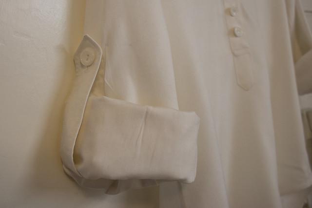 White rayon Mila shirt-5