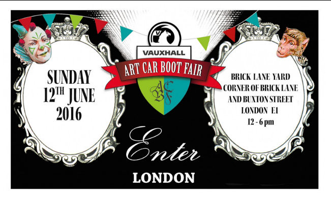 Art Car Boot Fair London 2016