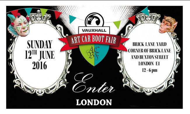 Art Car Boot Fair London 2016
