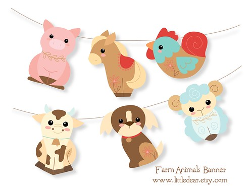 Farm animal printables are here!