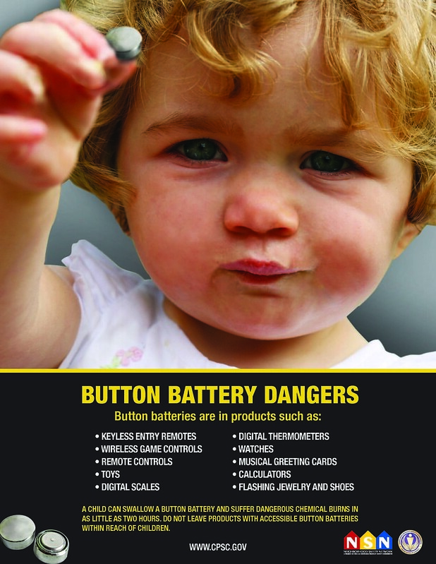 Button Battery Safety