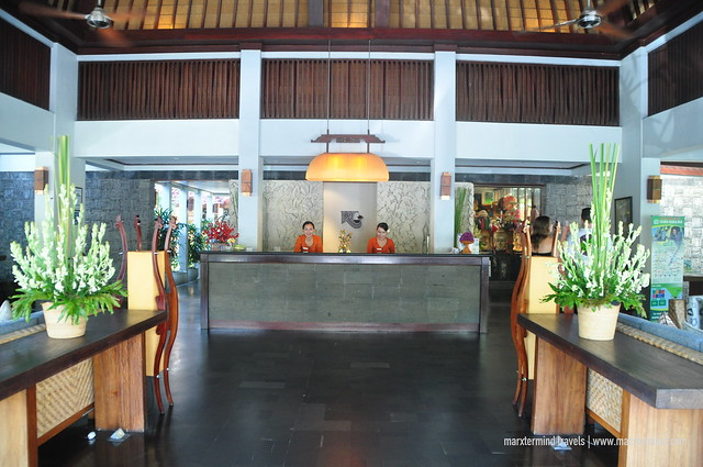 Lobby of Ramayana Resort & Spa