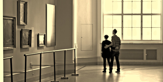 Couple in Museum