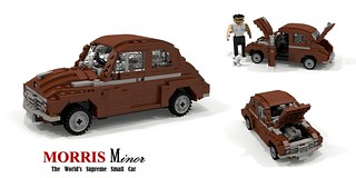 Morris Minor - 1948 (MM) 2-Door Saloon