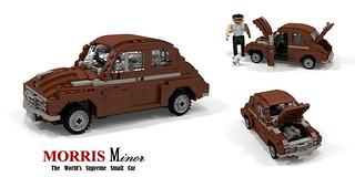 Morris Minor - 1948 (MM) 2-Door Saloon