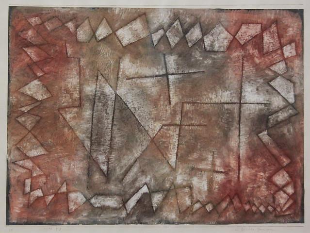in fasten Grenzen, Paul Klee 1935
