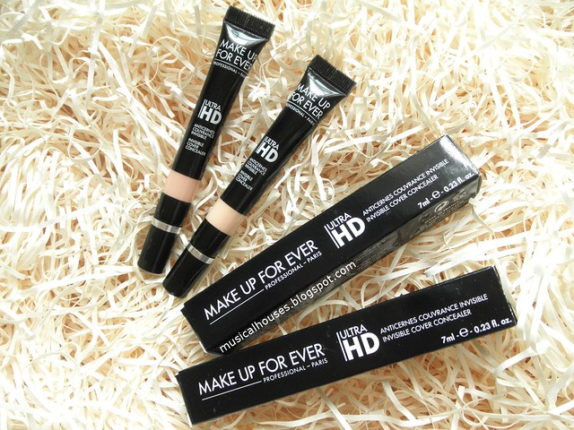 MUFE Ultra HD Concealer Review Swatches