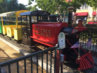 Nut Tree Train Vacaville California 1 July 2016