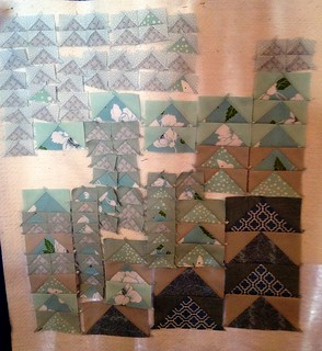 fab little quilt swap - in progress | by Amy's Creative Side