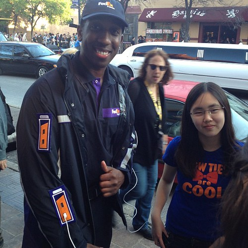 FedEx has the coolest idea. Charging jackets for partiers at SXSW. | by Robert Scoble