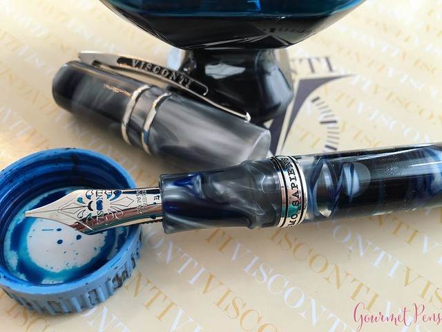 Review Visconti Homo Sapiens London Fog Fountain Pen @AppelboomLaren22