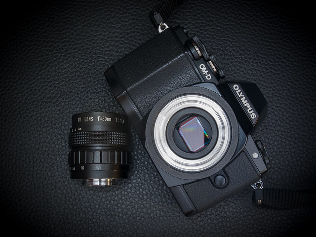 Depicted: Olympus OM-D E-M10 & 50mm f/1.4 CCTV C-mount lens