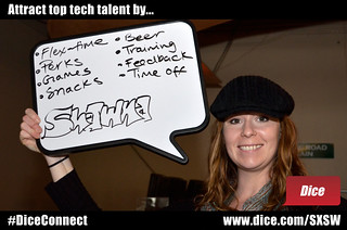 Attract top tech talent by offering flex-time, perks, games, snacks, beer, training, feedback, and time off | by Dice.com