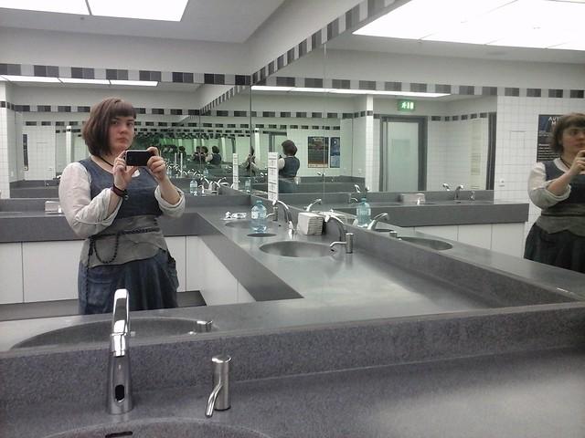 bathroom selfie @ RPC cologne