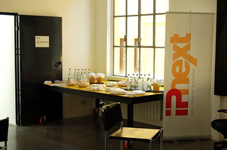 Foodstuffs were provided by IPnext | by startmeetup