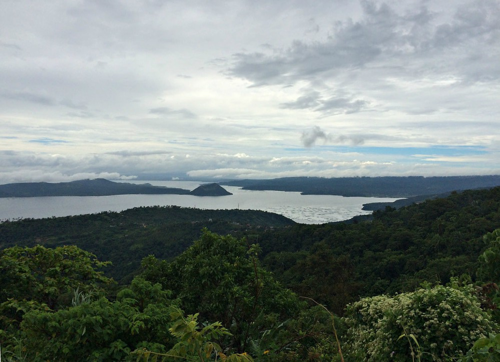 Taal Volcano from Picnic Grove - Copyright Travelosio