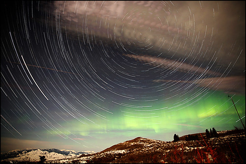Star Trails and Auroras... Methow Style | by Ed.Stockard