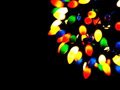 Christmas Lights by Ryan Padilla, Creative Commons Permissions