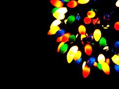 Christmas Lights by Ryan Padilla, Creative Commons Permissions